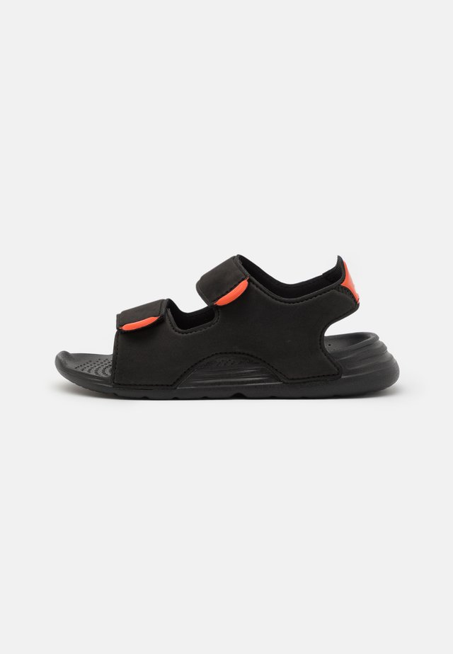 SWIM UNISEX - Rantasandaalit - core black/footwear white