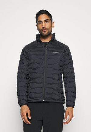 ARGON LIGHT - Winter jacket - black