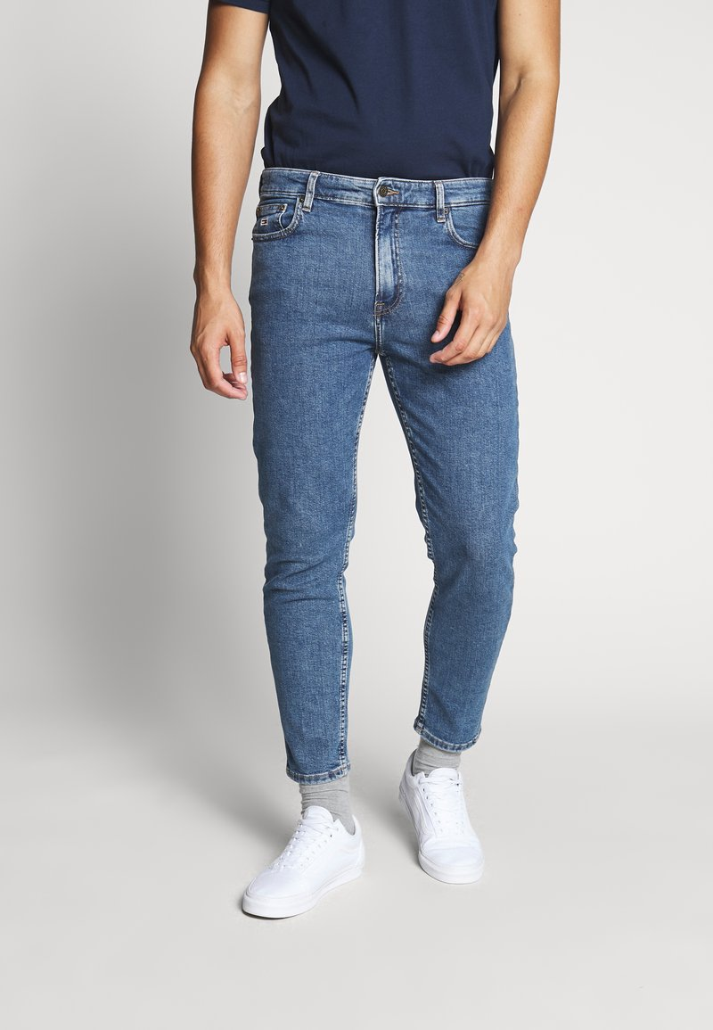 Tommy Jeans - DAD JEAN - Straight leg jeans - blue denim