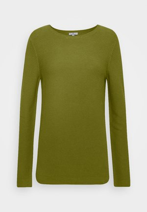 SWEATER NEW OTTOMAN - Jumper - wood green