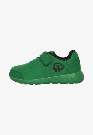 Touch-strap shoes - vert