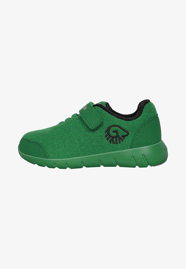 Chaussures à scratch - vert