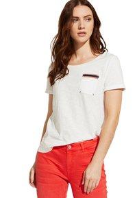 comma casual identity - Print T-shirt - white - 4