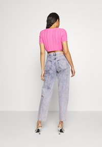 Pepe Jeans - DUA LIPA X PEPE JEANS - Jeansy Relaxed Fit - moon washed - 2