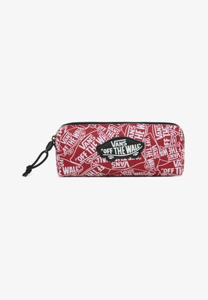 Pencil case - white-chili pepper