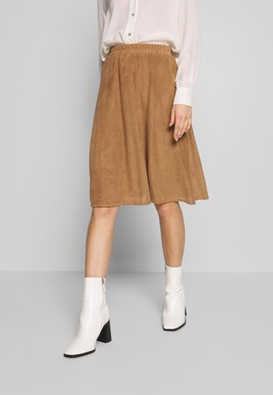 NUJUANNESLEY SKIRT - A-line skirt - tannin