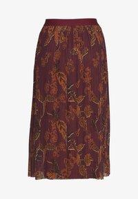 Mos Mosh - PLISSÉ SKIRT - A-line skirt - purple - 3