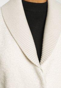 Sisley - COAT - Cappotto classico - offwhite - 7