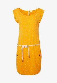 Ragwear - TAG - Žerzejové šaty - yellow - 3