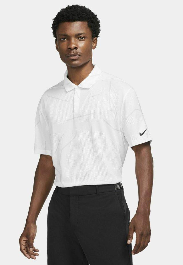 TIGER WOODS DRY COURSE  - T-shirt de sport - white/black