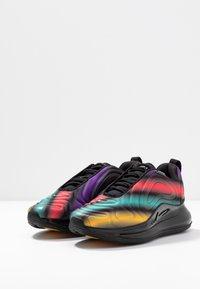 Nike Sportswear - AIR MAX  - Trainers - black/metallic silver/university gold/flash crimson/kinetic green/psychic purple - 4