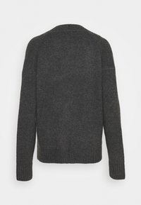 J.CREW - SUPERSOFT CROPPED CARDI - Cardigan - hthr charcoal - 1