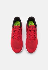 Nike Performance - STAR RUNNER 2 UNISEX - Neutral running shoes - university red/black/volt - 3