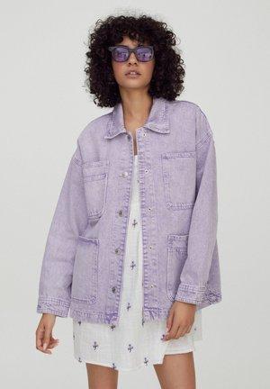 Veste en jean - purple