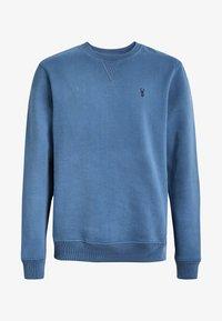 mottled royal blue