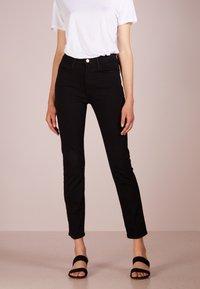 Frame Denim - LE HIGH  - Jeans Skinny Fit - film noir - 0