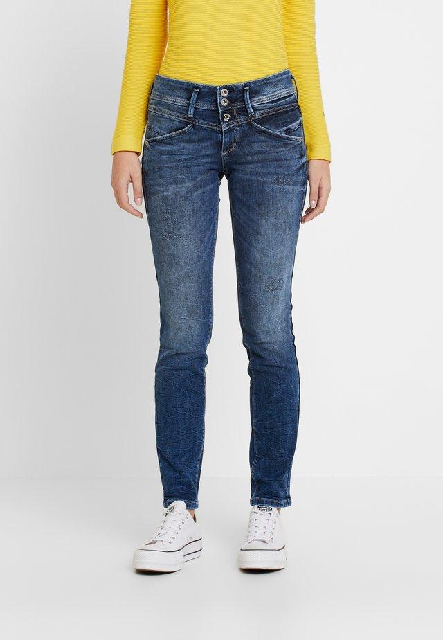 ALEXA - Jeans Slim Fit - random bleached/ blue denim