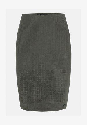 G-FIT - Pencil skirt - green