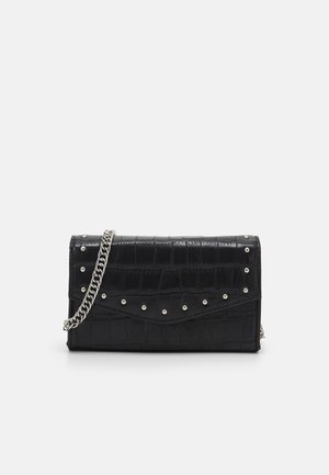MINI BOXY STUD XBODY - Across body bag - black