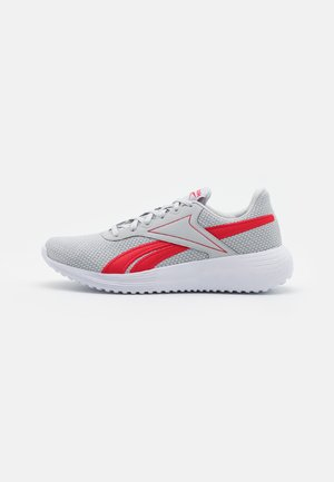 LITE 3.0 - Neutral running shoes - pure grey 2/footwear white/vector red