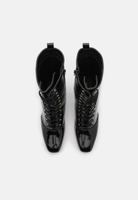Glamorous - Lace-up ankle boots - black - 5