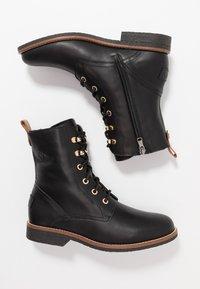 Panama Jack - GATHA IGLOO TRAVELLING - Lace-up ankle boots - black - 3