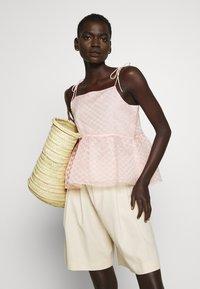 Bruuns Bazaar - DITTANY LENNY  - Top - misty rose - 3