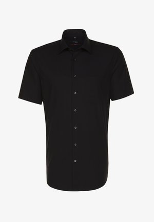 REGULAR FIT - Shirt - black