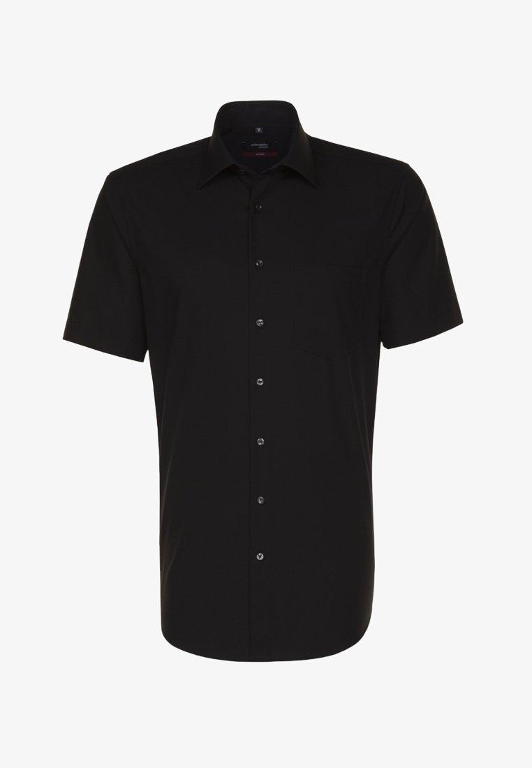 Seidensticker - REGULAR FIT - Skjorta - black