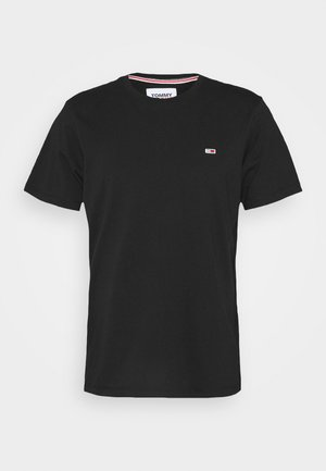 TJM CLASSIC JERSEY C NECK - Basic T-shirt - black