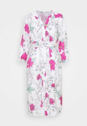 BLUSENKLEID MIDI - Shirt dress - pink