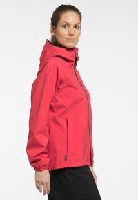 Haglöfs - BUTEO JACKET - Hardshell jacket - hibiscus red - 2
