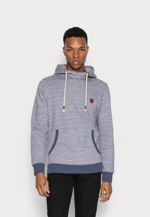 JPRBLUDAN HIGH NECK HOOD  - Sweatshirt - vintage indigo/fit melange
