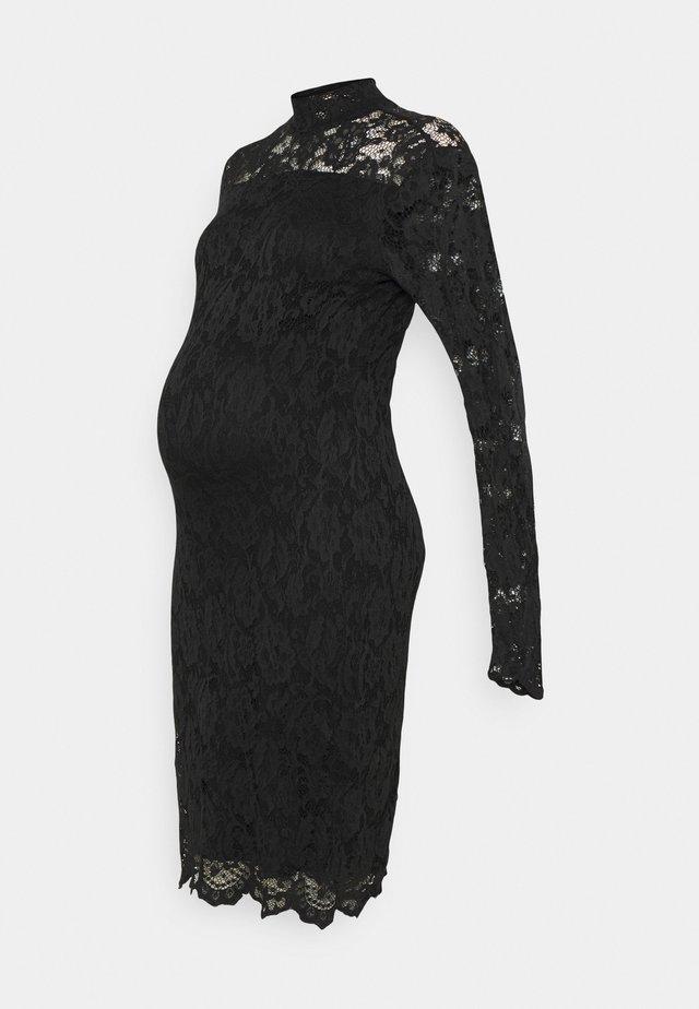 DRESS  - Kotelomekko - black