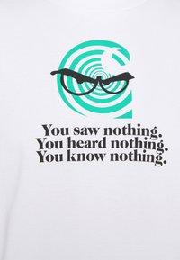 Carhartt WIP - NOTHING - Printtipaita - white - 5