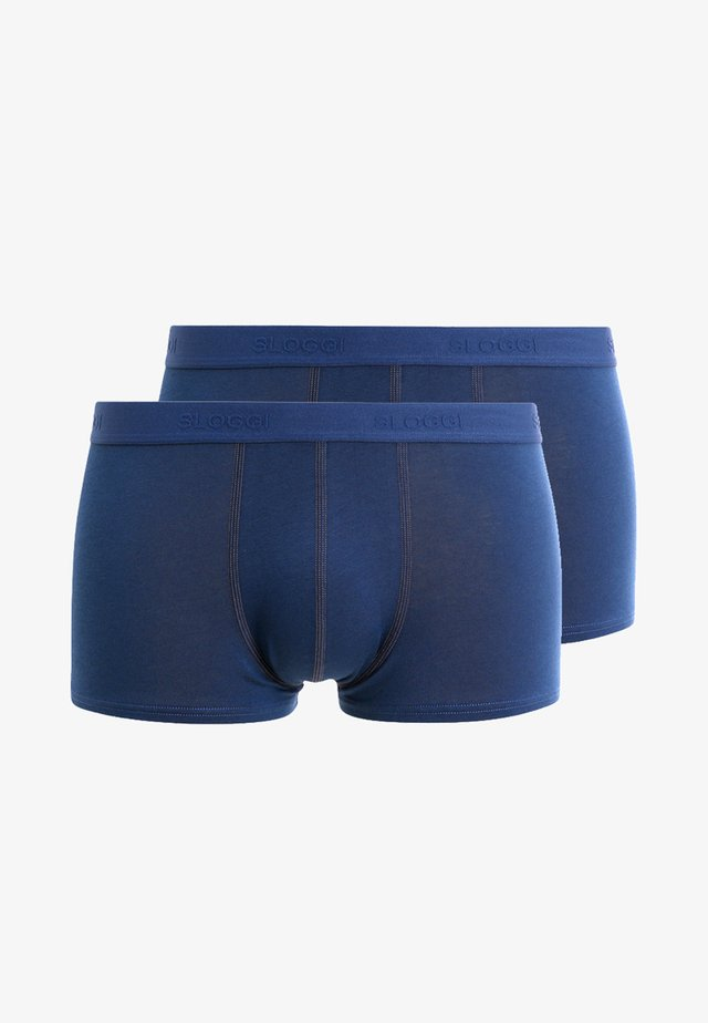 SLIM 24/7 HIPSTER 2 PACK - Shorty - midnight blue