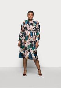 Marks & Spencer London - PRINTED MIDI DRES - Korte jurk - multi-coloured - 0