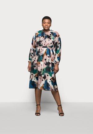 PRINTED MIDI DRES - Day dress - multi-coloured