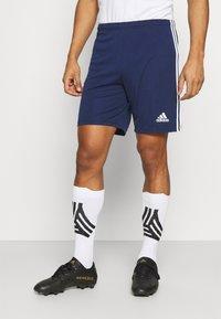 adidas Performance - SQUADRA 21 - Korte sportsbukser - navy blue/white - 0