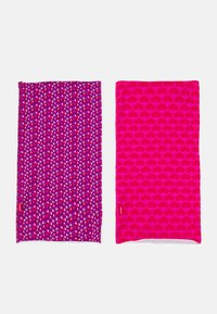 Maximo - KIDS MULTIFUNKTIONSTUCH 2 PACK UNISEX - Snood - pink/purple - 0