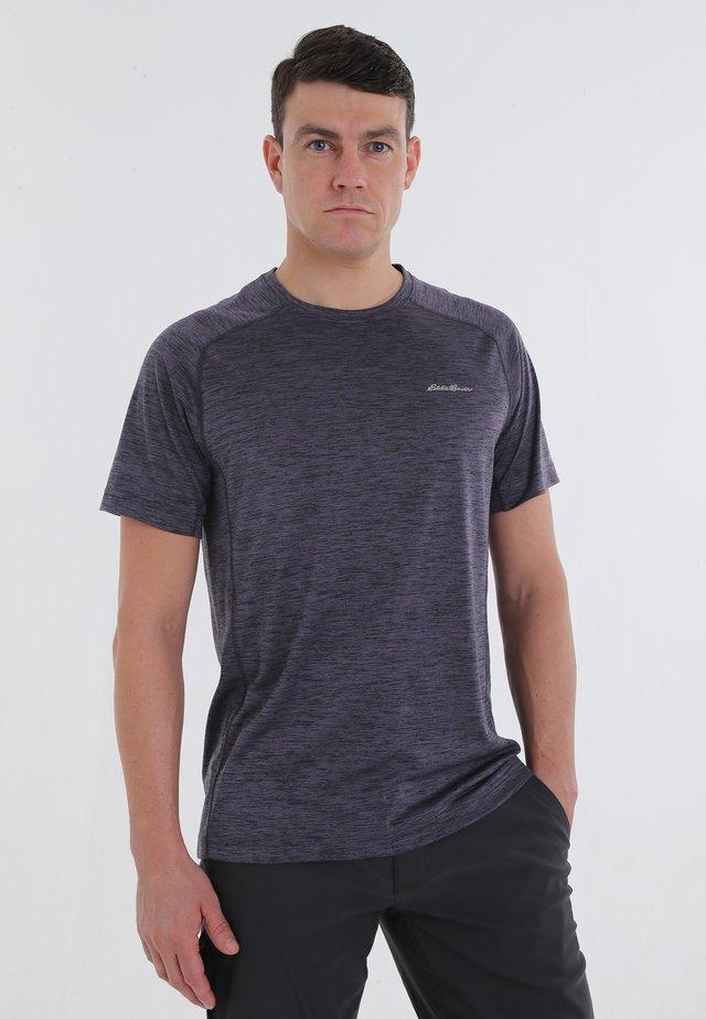 RESOLUTION - Print T-shirt - purple