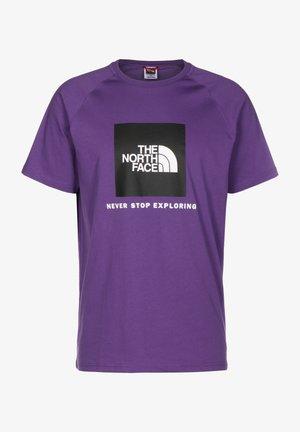 RAGLAN TEE  - Print T-shirt - peak purple