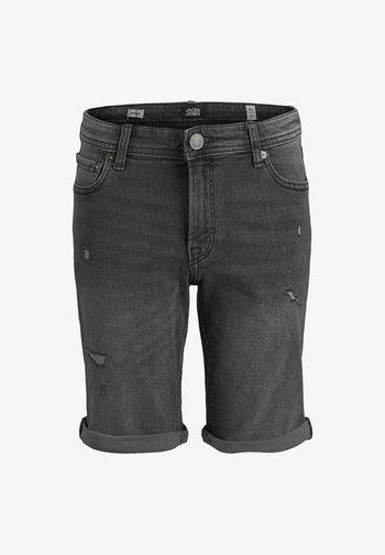 RICK  - Denim shorts - grey denim
