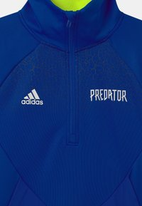 adidas Performance - UNISEX - Long sleeved top - team royal blue/semi solar yellow - 2