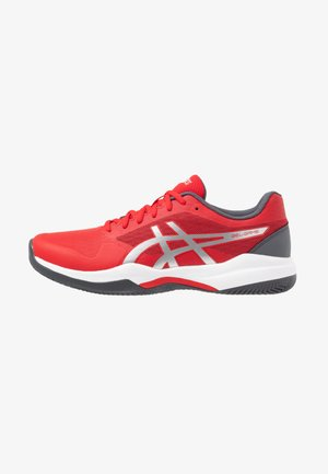 GEL-GAME 7 CLAY - Clay court tennis shoes - classic red/pure silver