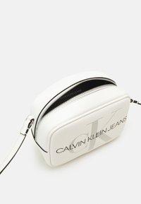 Calvin Klein Jeans - CAMERA BAG - Across body bag - white - 2