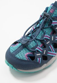 Merrell - HYDRO CHOPROCK - Walking sandals - navy/turquoise - 2