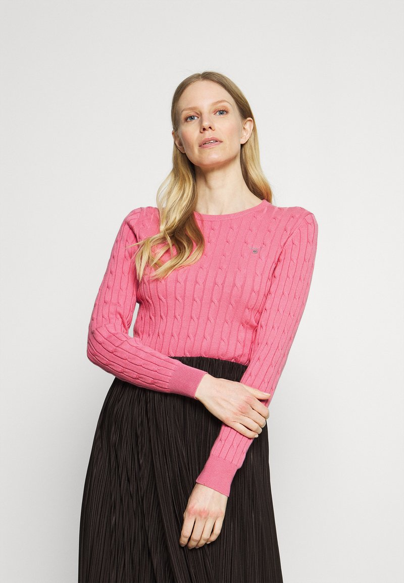 GANT - CABLE CREW - Jumper - chateau rose