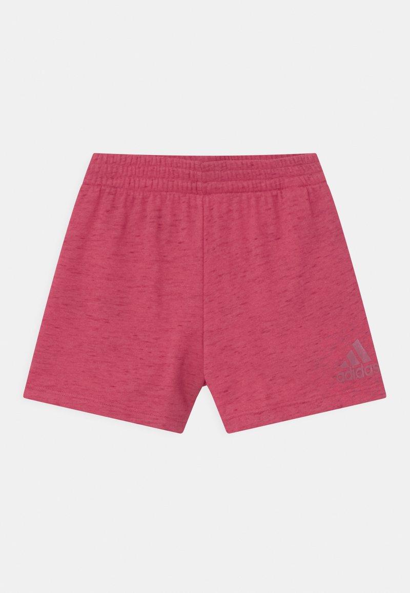 adidas Performance - UNISEX - Sportovní kraťasy - light pink