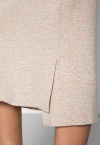Lounge Nine - NOIAN SKIRT - Pencil skirt - oat melange - 4